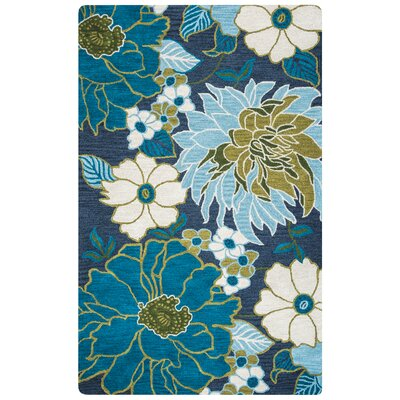 Basco Hand-Tufted Multi Area Rug Rug Size: Rectangle 5 x 8