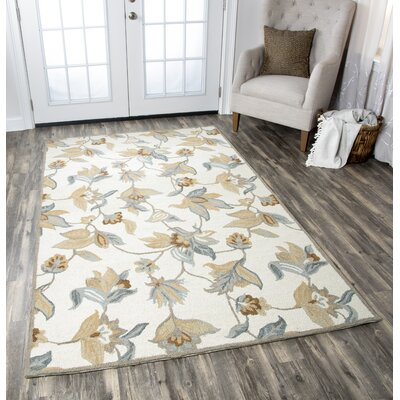 Hopkins Hand-Tufted Multi Area Rug Rug Size: 5 x 8