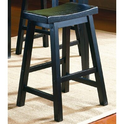 Bates Black Bar Stool (Set of 2)