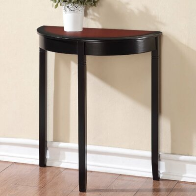 Hilbert Demilune Console Table