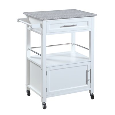 Fraizer Kitchen Cart with Granite Top
