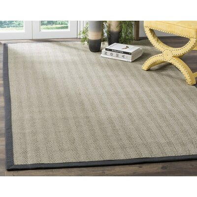 Albertina Gray Area Rug Rug Size: Square 6