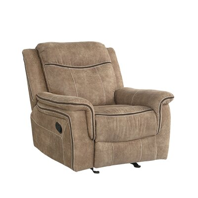 Lapel Manual Glider Recliner