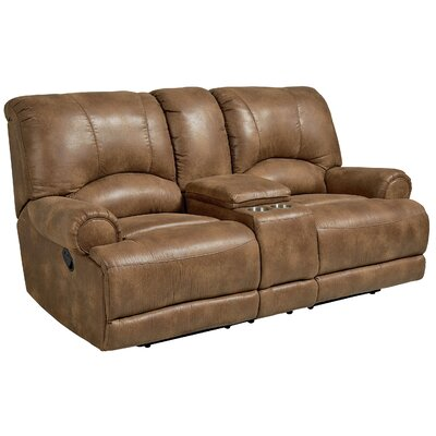 Leiters Manual Motion Reclining Loveseat