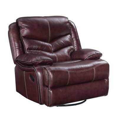 Scribner Manual Swivel Glider Recliner