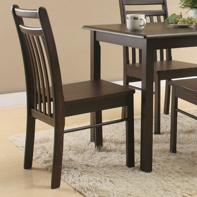 Logansport Solid Wood Side Chair
