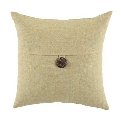 Mamaroneck Indoor/Outdoor Throw Pillow Color: Light Yellow