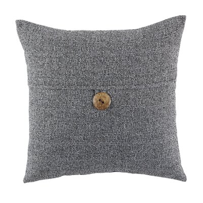 Mamaroneck Indoor/Outdoor Throw Pillow Color: Charcoal
