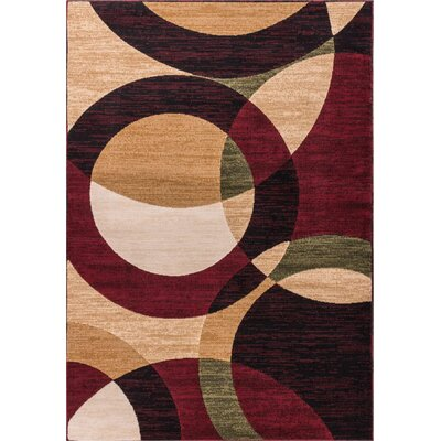 Chelsi Rings/Circles Area Rug Rug Size: 710 x 910