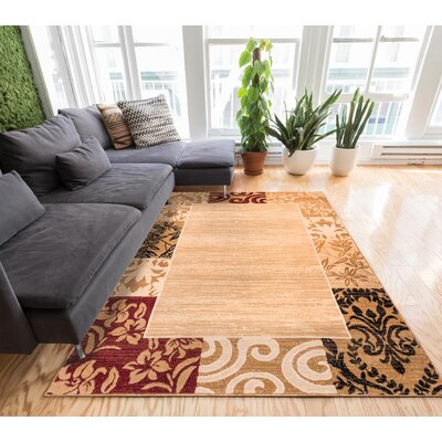 Sherry Area Rug Rug Size: 710 x 910