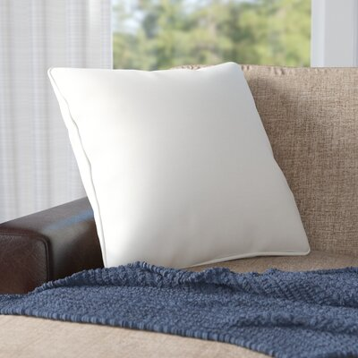 Weymouth Outdoor Throw Pillow Color: Eggshell