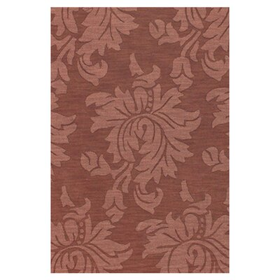 Bradley Cinnamon Area Rug Rug Size: Rectangle 33 x 53
