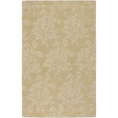 Bradley Gold Area Rug Rug Size: Rectangle 5 x 8