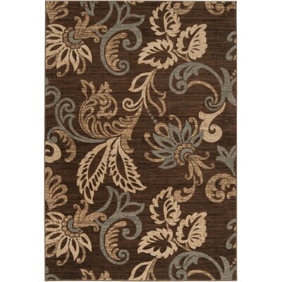 Acres Coffee Bean Area Rug Rug Size: 53 x 76