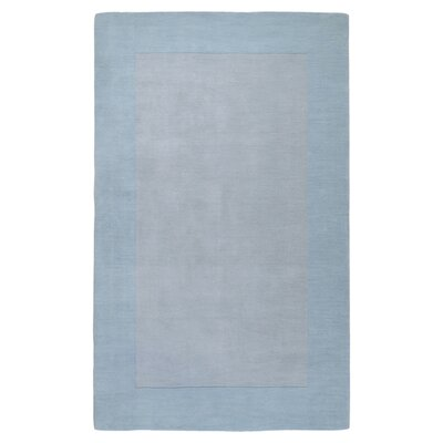 Bradley Light Blue Area Rug Rug Size: Square 6