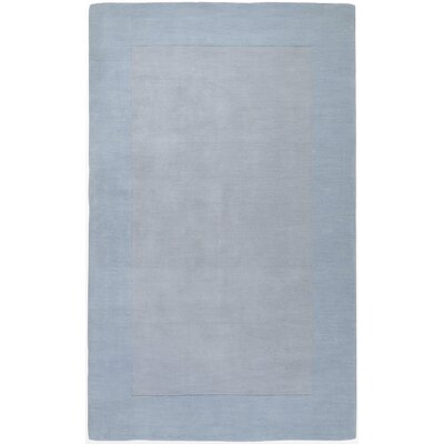 Bradley Light Blue Area Rug Rug Size: 5 x 8