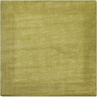 Maryport Lime Green Area Rug Rug Size: Square 99