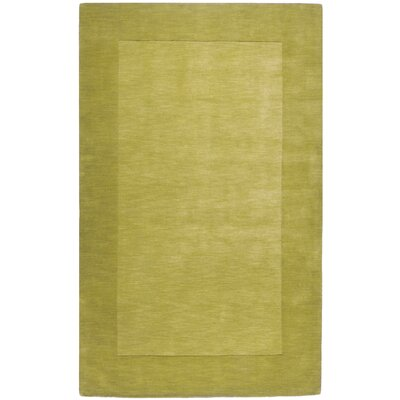 Bradley Hand Woven Moss Area Rug Rug Size: Rectangle 33 x 53