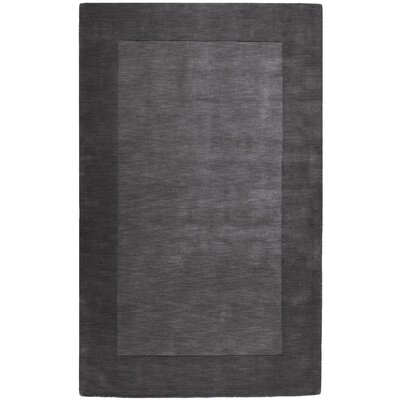 Bradley Charcoal Area Rug Rug Size: Rectangle 5 x 8