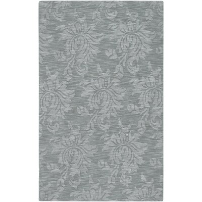 Bradley Gray Blue Area Rug Rug Size: Rectangle 5 x 8
