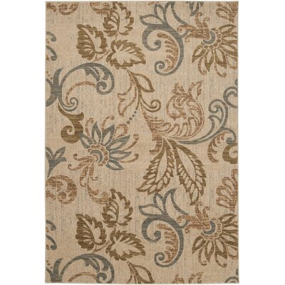 Acres Camel Rug Rug Size: Rectangle 53 x 76