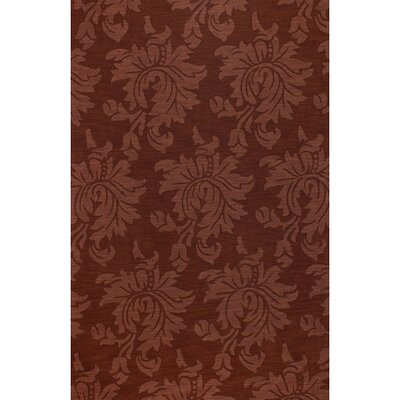 Bradley Auburn Area Rug Rug Size: Rectangle 33 x 53