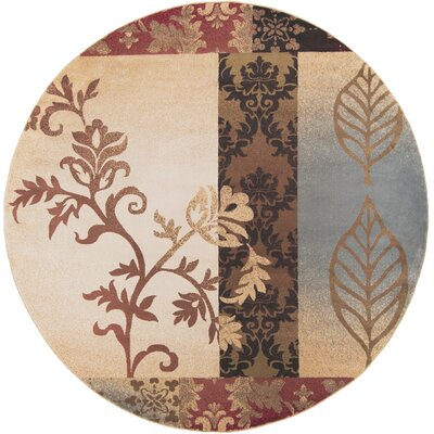 Acres Multi Area Rug Rug Size: Round 8