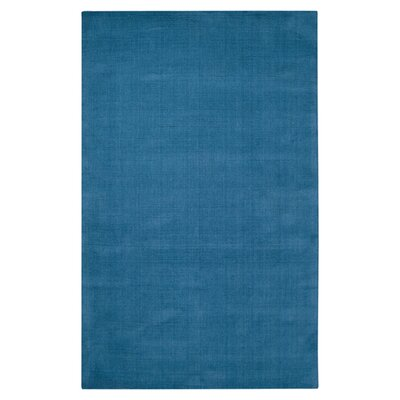 Naples Hand Woven Blue Area Rug Rug Size: Rectangle 33 x 53