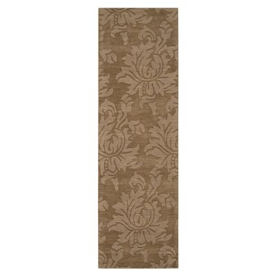 Maryport Brown Area Rug Rug Size: Runner 26 x 8