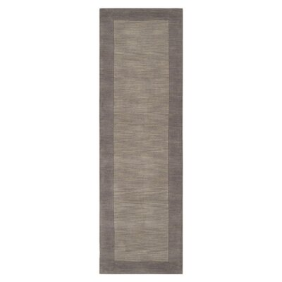 Maryport Lavender Gray Area Rug Rug Size: Runner 26 x 8