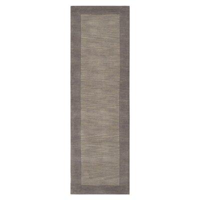Bradley Lavender Gray Area Rug Rug Size: Runner 26 x 8