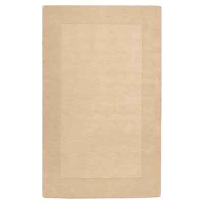Bradley Beige Area Rug Rug Size: Rectangle 33 x 53