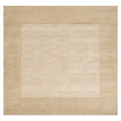 Maryport Beige Area Rug Rug Size: Square 6