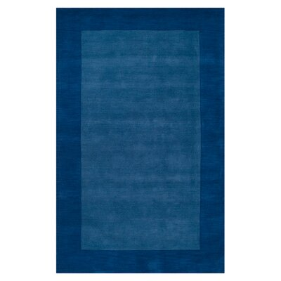 Bradley Blue Area Rug Rug Size: Rectangle 6 x 9