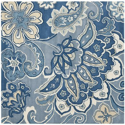 Armstrong Blue Rug Rug Size: Square 6