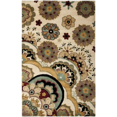 Armstrong Ivory / Sage Rug Rug Size: Rectangle 26 x 4