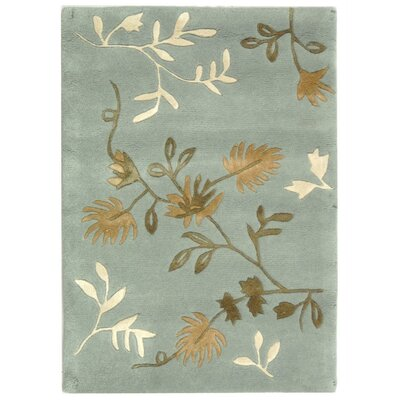 Armstrong Light Blue Rug Rug Size: Runner 26 x 12