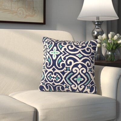 Ansonia Throw Pillow Color: Marine