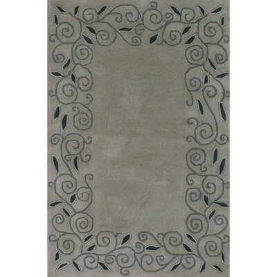 Kaci Black/Gray Area Rug Rug Size: Rectangle 2 x 3