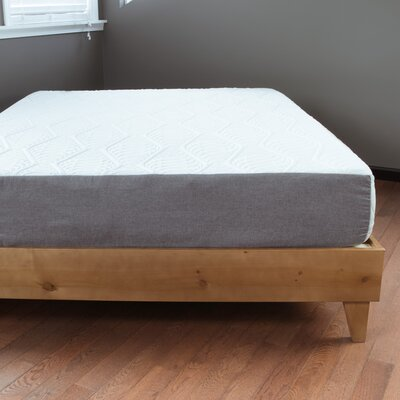 Templeton Exceptional Platform Bed Size: Twin, Color: Almond