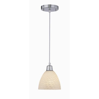 Farrell 1-Light Pendant Size: 69.5 H