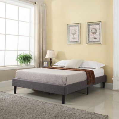 Rockport Upholstered Platform Bed Size: Queen