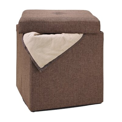 Rockville Storage Ottoman Upholstery: Espresso