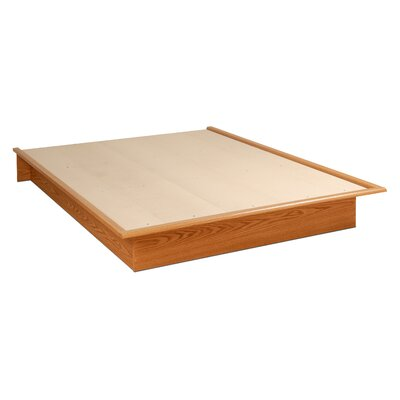 Roselawn Platform Bed Size: Full, Finish: Oak
