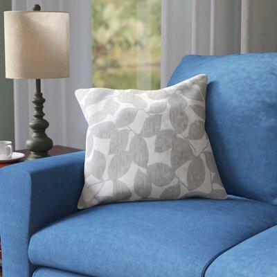 Barrington Outdoor Throw Pillow Size: 20 H x 20 W x 4 D, Color: Light Gray