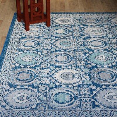Aegean Blue / Ivory Area Rug