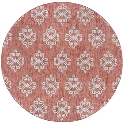 Bella Transitional Terra Indoor/Outdoor Area Rug Rug Size: Rectangle 53 x 73