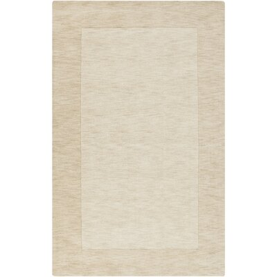 Bradley Beige Solid Area Rug Rug Size: Rectangle 33 x 53