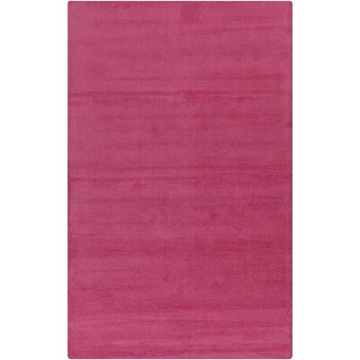 Naples Hand Woven Magenta Area Rug Rug Size: Rectangle 33 x 53
