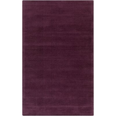 Naples Hand Woven Eggplant Area Rug Rug Size: Rectangle 6 x 9